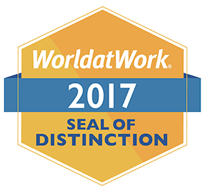 World at Work Alliance for Work-Life Progress 2017 Seal of Distinction